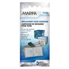 Small image for Marina T100 Replacement 3.7L (1 US Gal) Aquarium Filters