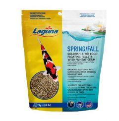 Small image for Laguna Spring & Fall Floating Food with Wheat Germ - 2 kg (4.4 lbs)