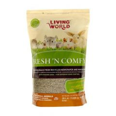 Small image for Living World Fresh 'N Comfy Bedding - 20 L (1220 cu in) - Tan