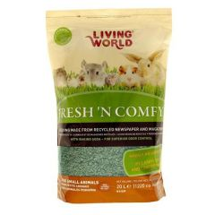 Small image for Living World Fresh 'N Comfy Bedding - 20 L (1220 cu in) - Green
