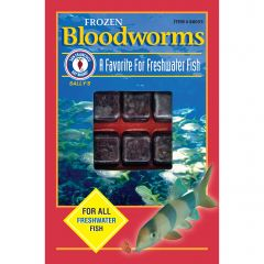 Small image for San Francisco Bay Bloodworms Cube, 3.5 oz (100 g)