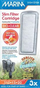 Small image for Marina Bio Clear Cartridge for Slim Filters - 3 pack