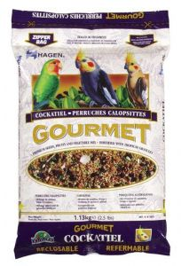 Small image for Hagen Gourmet Seed Mix For Cockatiels and Small Hookbills - 1.3 kg (2.5 lb)