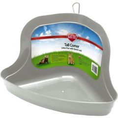 Small image for Kaytee - Tall Corner Litter Pan with Quick Lock