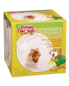 Petite image pour Balle d'exercice Living World avec support, moyenne