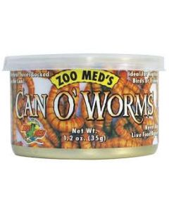 Petite image pour Zoo Med Can O' Worms - 1.2 oz