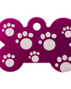 Petite image pour Grand Os Rose Avec Pattes / Large Pink Bone With Paws